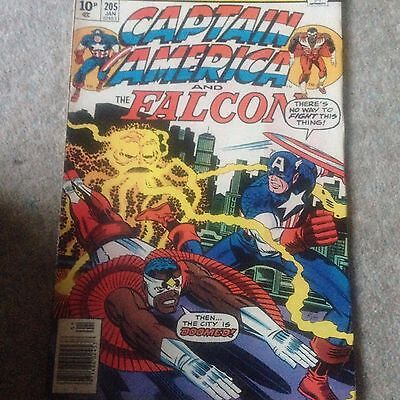 Marvel Captain America and the Falcon issue 205