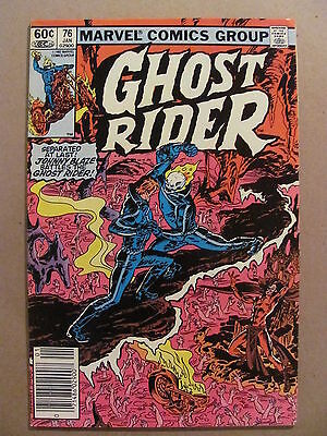 Ghost Rider #76 Marvel Comics 1973 Series Newsstand Edition