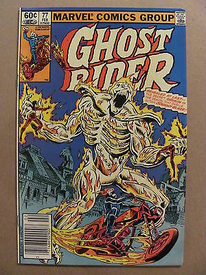 Ghost Rider #77 Marvel Comics 1973 Series Newsstand Edition