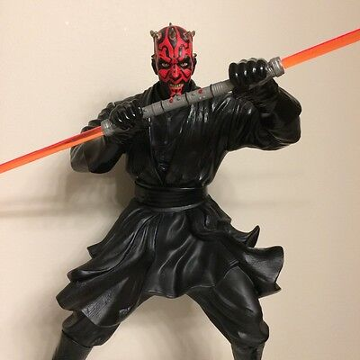 Star Wars Episode I: Darth Maul 12 inch Action Figure w/ light sabre (numbered)
