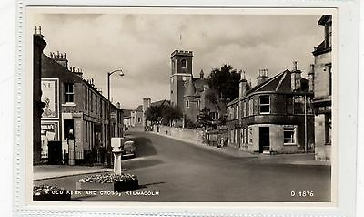 OLD KIRK AND CROSS, KILMACOLM: Renfrewshire postcard (C26921)