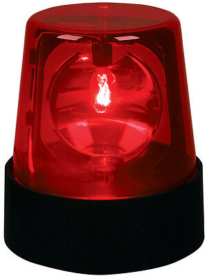 Large New 7 Inch Red Flashing Beacon Party Strobe Light
