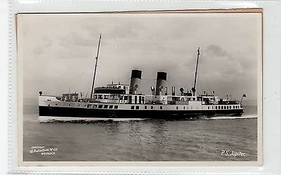 "CLYDE STEAMER P.S. ""JUPITER"": Shipping postcard (C26628)"