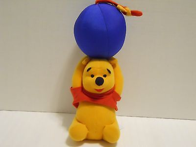 Disney The First Years WINNIE THE POOH Pull Down Musical Crib Stroller Plush Toy