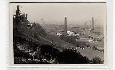 BO'NESS FROM VICTORIA PARK: West Lothian postcard (C26708)
