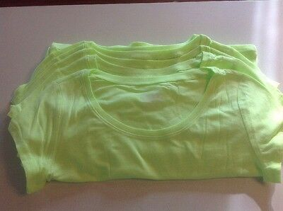 Lot of 10 Justice Crop T-shirts NEW Great To Decorate For Parties!