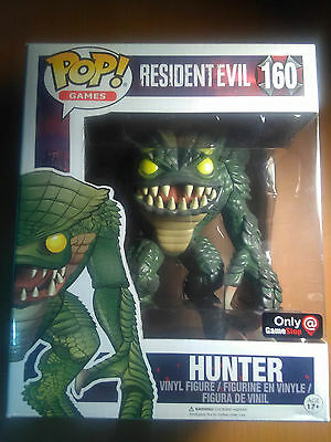 "Funko Pop! Games: Resident Evil  6"" HUNTER #160 GAMESTOP EXCLUSIVE"