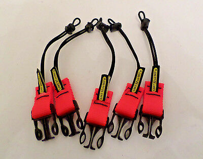 Williams WTHRET2CLIPS Snap-On Clips Retractor Lanyard 32oz Limit - Lot of 5 NEW