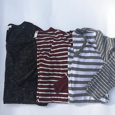 Women's Lot Maternity 3 Tops Sweaters Size Large Old Navy, Oh Baby, Liz Lange
