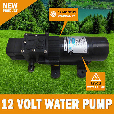 NEW 12 Volt 60 PSI Water Pressure Pump Trailer RV Caravan Camping