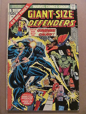 Giant Size Defenders #5 Marvel Comics 1975 Guardians of the Galaxy 3rd app