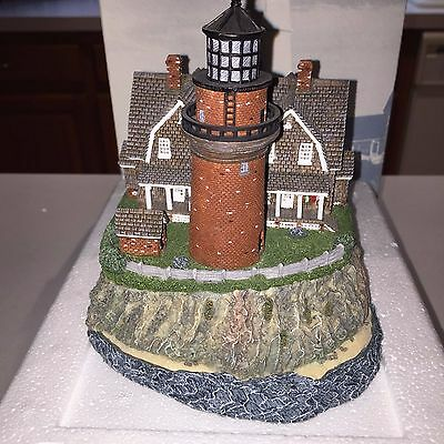 1998 Harbour Lights Gay Head MA #219 Signed Limited Ed. #7471 COA in Box