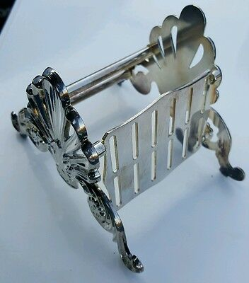 Vintage  LEONARD SILVERPLATE KNIFE HOLDER ITALY