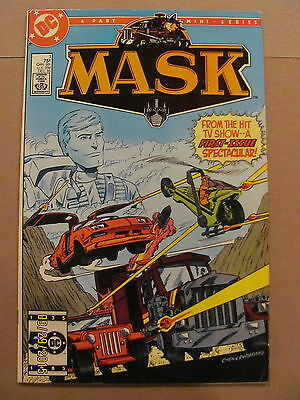 MASK #1 #2 #3 #4 DC Comics 1985 Full Series Based on TV Show & Toy Line