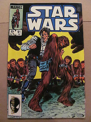 Star Wars #91 Marvel Comics 1977 Series