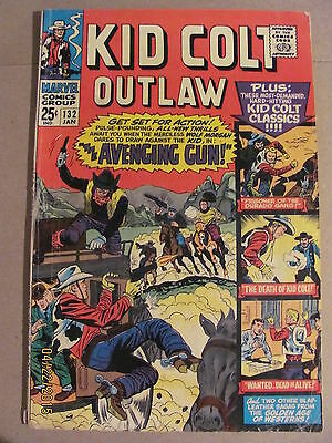 Kid Colt Outlaw #132 Marvel Comics 68 Pages
