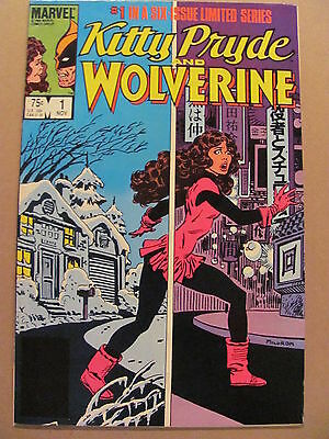 Kitty Pryde and Wolverine #1 #2 #3 #4 #5 #6 Marvel Full 1984 Limited Series