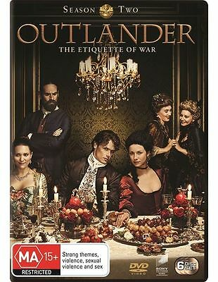 Outlander Season Two 2 BRAND NEW SEALED R4 DVD