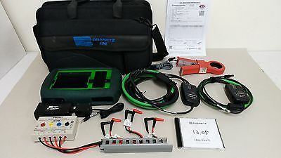 Dranetz BMI MAVOWATT30 3-Phase Energy and Power Disturbance Analyzer PowerVisa
