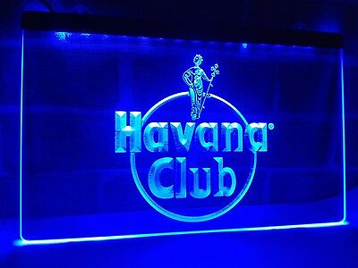 Havana Club Rum LED Neon Light Sign Home Decor Crafts Club Gift Lamp Craft Hot