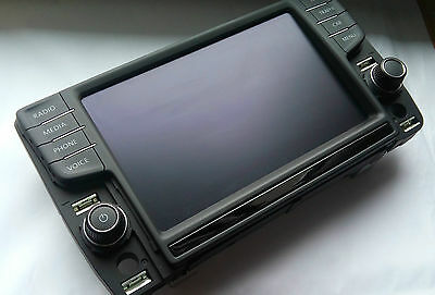 VW Discovery Pro 8 Inch Media Touch Screen Display 5G0919606