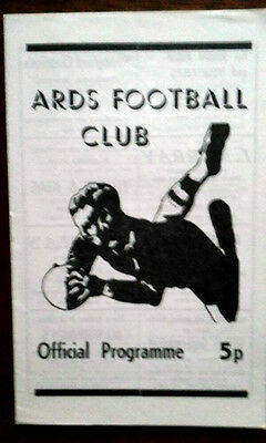 Ards V Psv Eindhoven 1974/5 European Cup Winners Cup