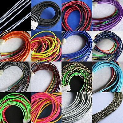 16 Color 3mm Encryption Braided Cable Sleeving/Sheathing/Auto Wire Harness