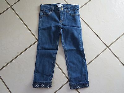 New R by La Redoute Girls turn up jeans, age 5 years