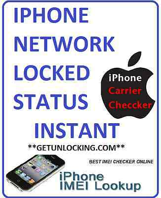 Iphone Network Mini Gsx Carrier Status Check Fastest Worldwide Instant Service