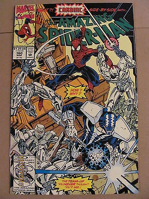 Amazing Spider-Man #360 Marvel Comics 1st cameo of Carnage 9.2 Near Mint-