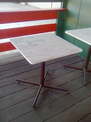 Marble outdoor courtyard cafe table