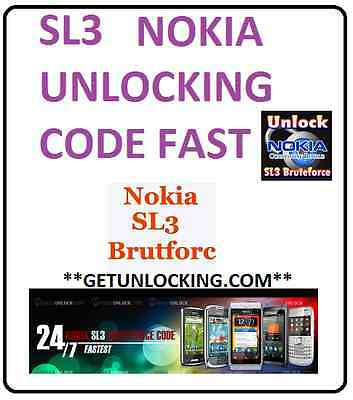 Sl3 Nokia Cheap Fast Unlocking 1 To 24 Hours *this Is Not Imei Service*