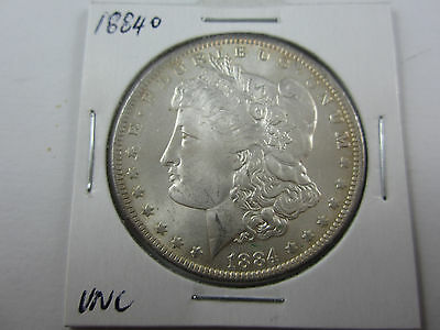 1884o United States Morgan Dollar in Uncirculated cond. No wear, some bagging