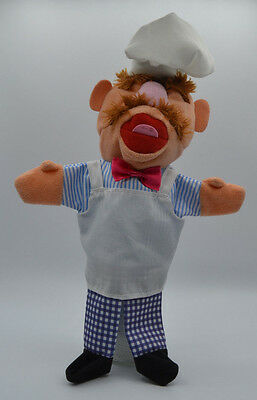 Koch swedish chef Werbefigur Handpuppe Muppets Albert Heijn Holland ca. 30 cm