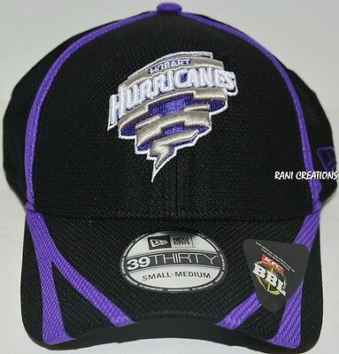 New - Hobart Hurricanes New Era Cap BBL Big Bash Hat Cricket Australia - S/M