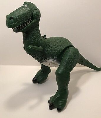 Talking Rex the Dinosaur Toy Story Pixar 11 PHRASES WORKS GREAT Thinkway Toys