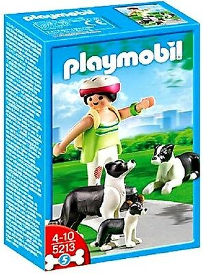 PLAYMOBIL 5213     -    Border Collie-Familie   -    City Life