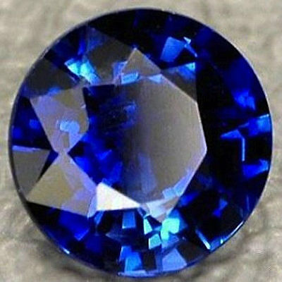 Synthetic Blue Sapphire Corundum Round (10 PCS) 6,7,8,9mm loose stone FREE SHIP