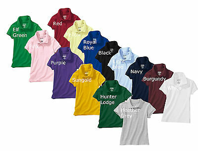 Boys Polo Shirts, School Uniform  NEW w/Tag, Choose Your Own Size & Color,