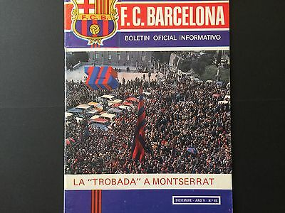 1974 FC Barcelona,2 - East Germany,1. offcial FC Barcelona magazine.Friendly