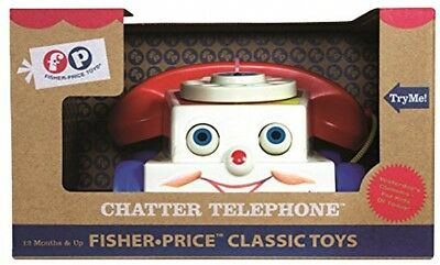 Fisher Price Classic Two Tune Television Toy Play Basic Fun Family Favorite New