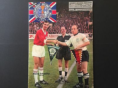 World Cup England 1966. germany football magazine. 20.July.1966