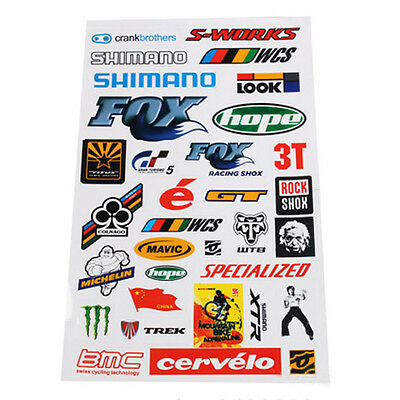 Fashion Bicycle Motorcycle Scrapbook Sticker BMX MTB Bike Decal Stickers Useful