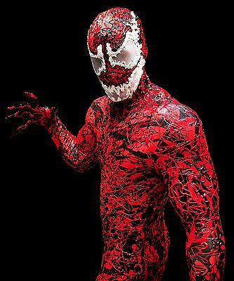 Cosplay Comic-Con Spiderman-Carnage Super Villain Costume-Made To Measure