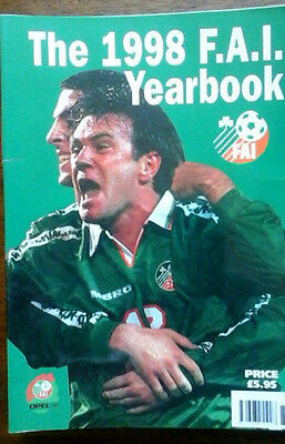 Fa Of Ireland Yearbook 1998