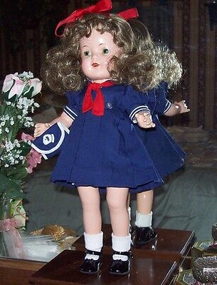 "Pretty Arranbee Nancy 17"" Composition Doll"