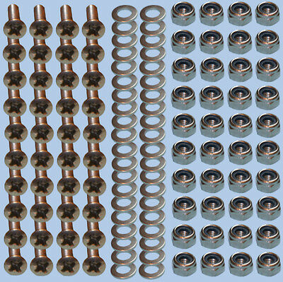 Chequer Plate POZI Bolts Fixing STAINLESS STEEL Land Rover Defender 90 110 X20