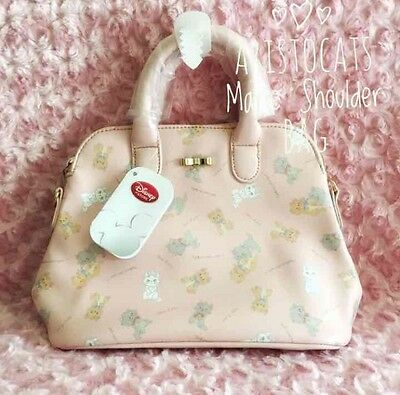 Disney Japan Aristocats Marie Cat Kawaii 2 Way Shoulder Bag