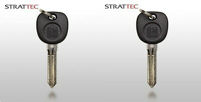 New Replacement Transponder Chip Ignition Key For GM Chevy Buick GMC Circle Plus