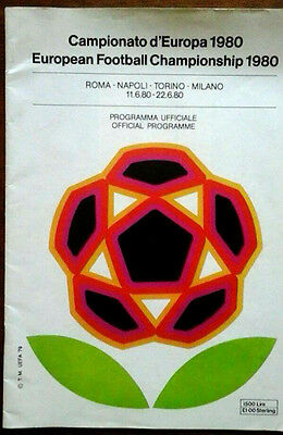 1980 European Championships @ Italy Covers All Games
